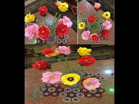 تركيب الورود الصينيه والفيديو كمان صيني Doha Anwar