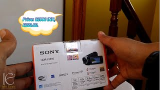 Sony HDR PJ410 Full HD Camcorder Unboxing, Overview: 2015 model