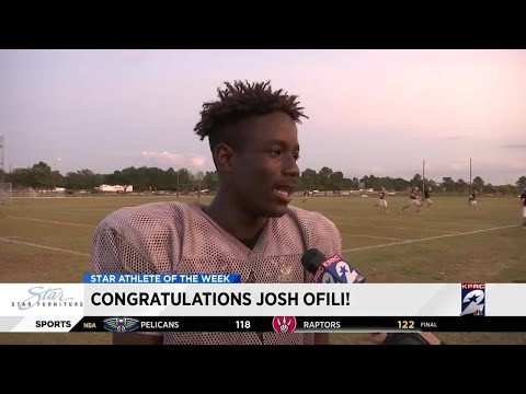 Star Furniture Athlete Of The Week: Josh Ofili