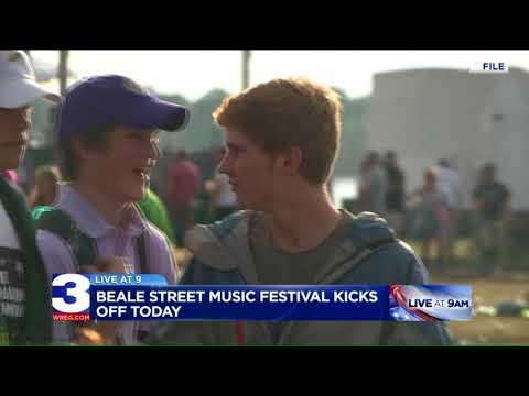 The Beale Street Music Festival kicks off today