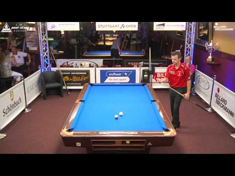 Stuttgart Open 2015, No. 11, Sebastian Staab vs. Steffen Gross, 10-Ball, Pool-Billard