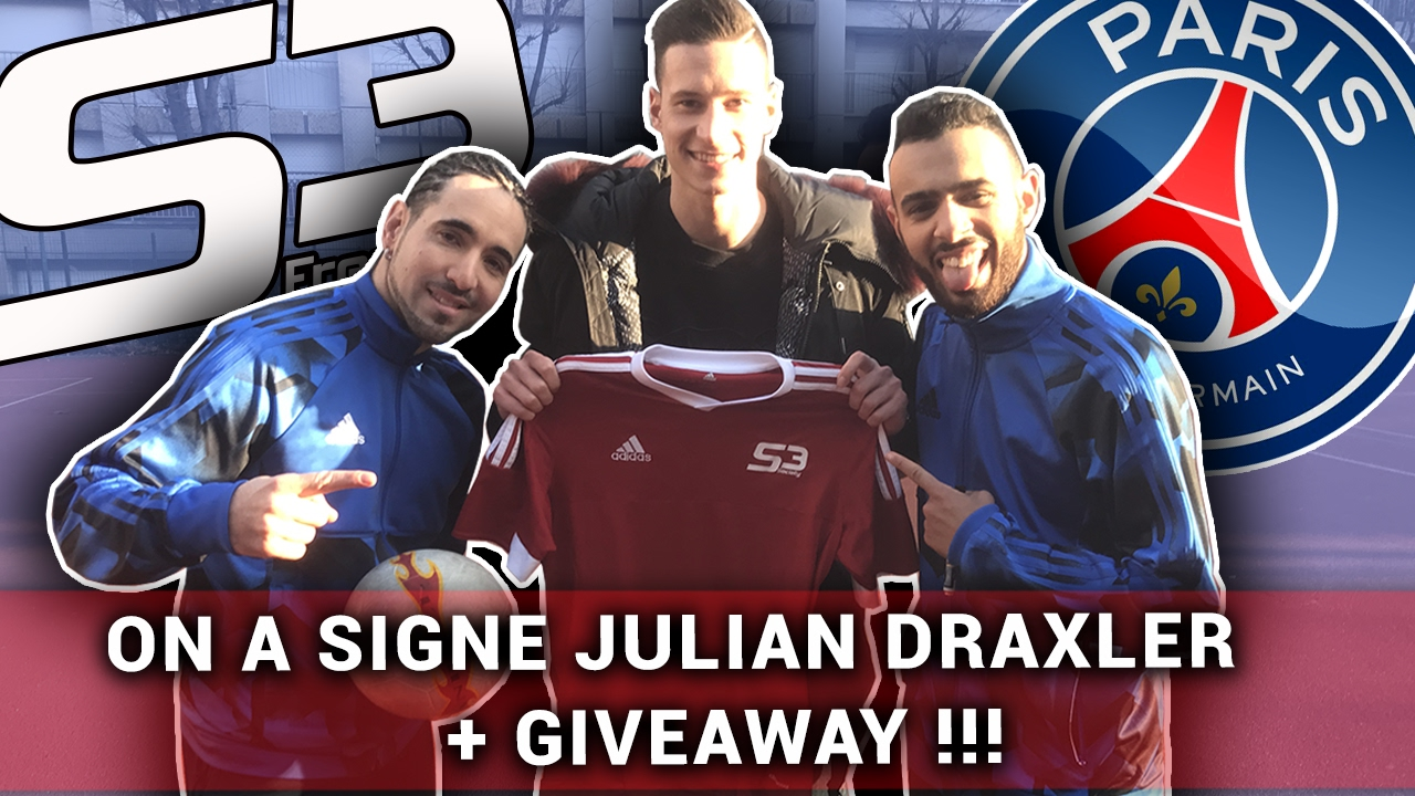 S3Youtube Omg Rejoint La Team Julian Draxler drxBoeC