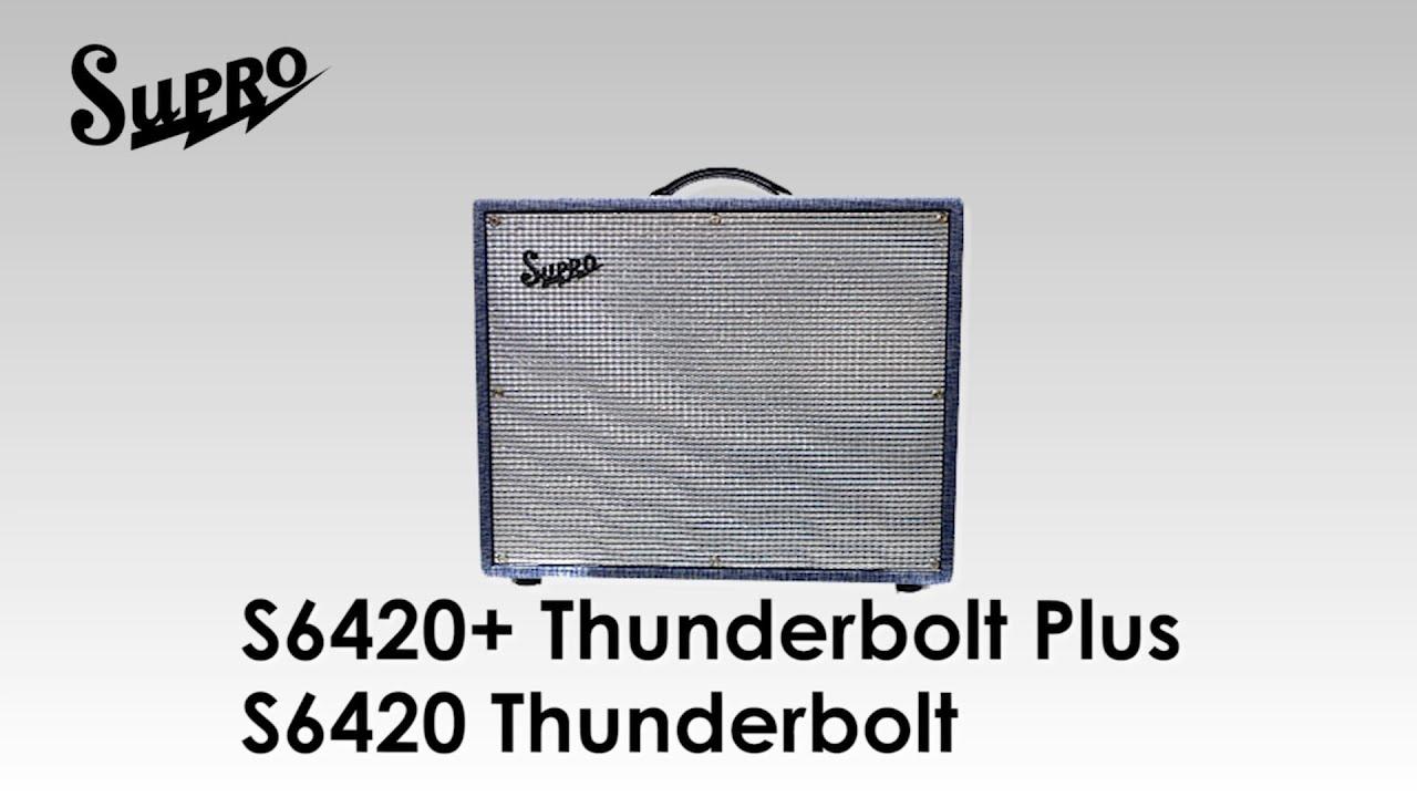 supro s6420 thunderbolt s6420 thunderbolt plus youtube. Black Bedroom Furniture Sets. Home Design Ideas