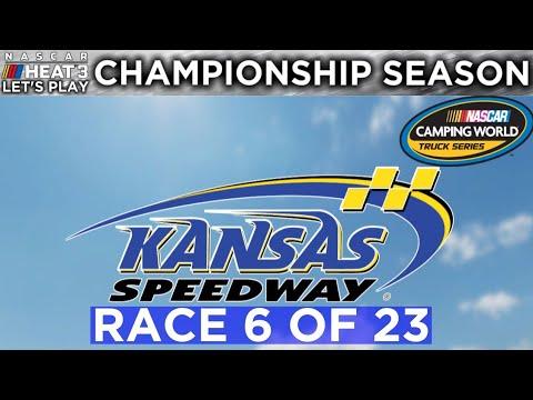 A Meh Race... | Truck Series Season Race 6/23 | NASCAR Heat 3 Let's Play |