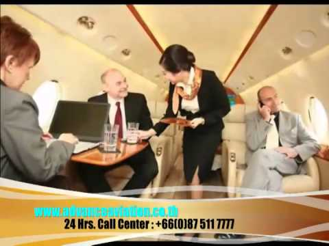 Private jet charter service Thailand