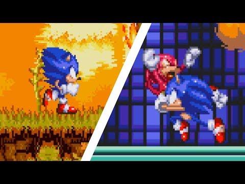 Toei Sonic 3 & Knuckles | Sonic Hacks ⮚ Gameplay