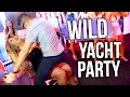 WILD BIRTHDAY PARTY ON A YACHT!!