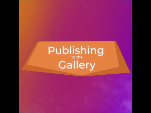 Publishing to the Gallery - CoSpaces Edu Feature Friday