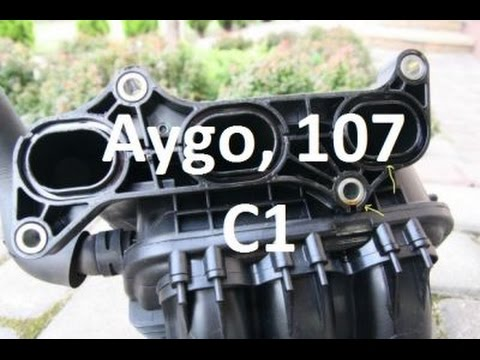 How to replace intake manifold gasket - 10 - Aygo, C1, Peugeot 107