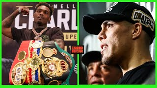 """(WOW!!) JERMELL CHARLO CONSIDERS DROPPING IBF BELT TO FIGHT CASTANO?; NO UNDISPUTED TITLE ON LINE!?"""""""