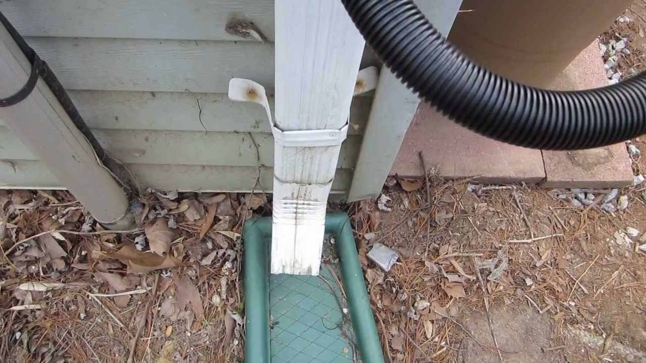 Installing A Rain Barrel And Diverter Youtube