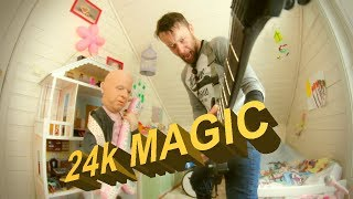 Bruno Mars - 24k Magic  Metal Cover By Leo Moracchioli