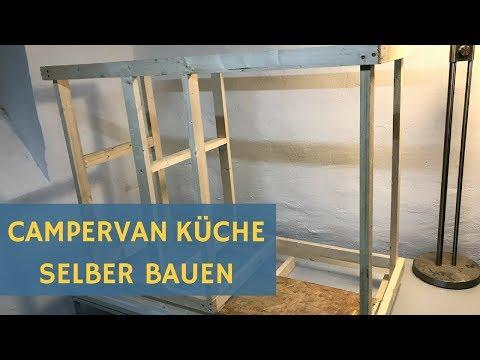 Bekannt Wohnmobil Küche selbst bauen - Sprinter Campervan - YouTube SX26
