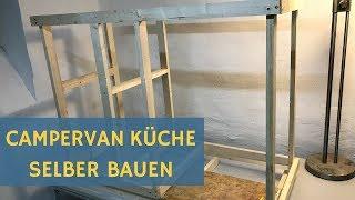 Wohnmobil Küche selbst bauen - Sprinter Campervan