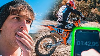 JE DÉFI UN PILOTE PRO DE MOTOCROSS!! (THOMAS DO)🥵