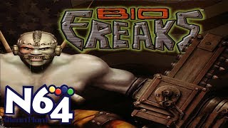 Bio F.R.E.A.K.S. - Nintendo 64 Review - HD