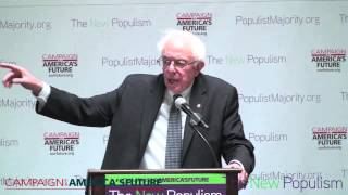 The New Populism with Bernie Sanders