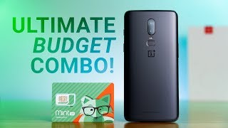 OnePlus 6 on Mint Mobile - Ultimate Budget Combo!