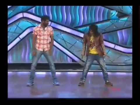 prabu deva in zee tv  dance