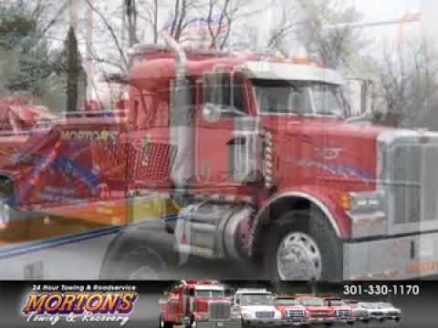 Morton\u0027s Towing  Recovery, Rockville, MD - YouTube