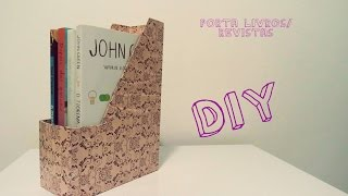 Diy - Porta Revistas/livros - Magazine Holder