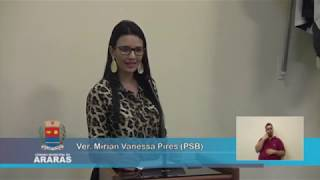 4ª Sessão Ordinária - Câmara Municipal de Araras
