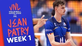 19 Points against Japan: Incredible Jean Patry | Volleyball Nations League 2019
