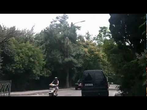 Ялта - 2012  на машине с Дарсана - Вертолетная Площадка YALTA CRIMEA 22.06.2013