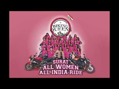 ALL WOMEN ALL INDIA RIDE | MEET ALL 45 WOMEN BIKERS | BIKING QUEENS