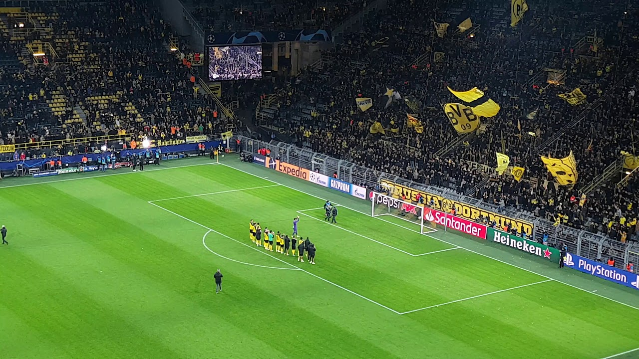 Dortmund Vs Slavia Praha 2019 YouTube