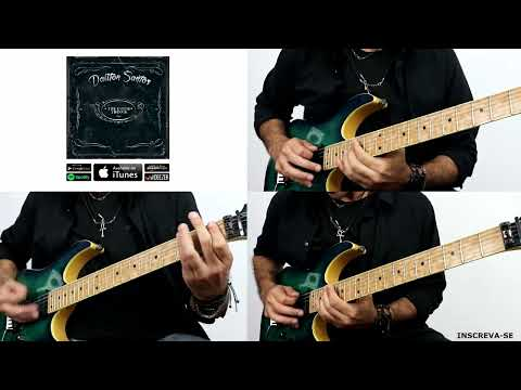 Kirk Hammett na BASE e James Hetfield no SOLO