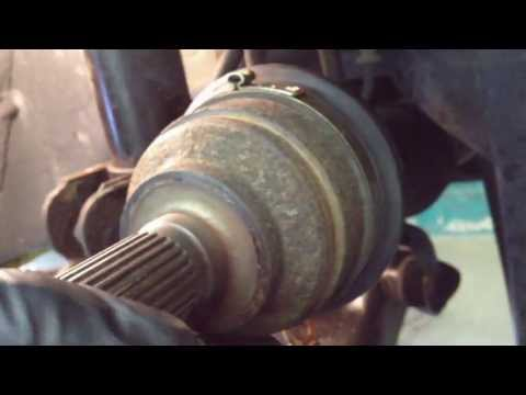 Ford Escape Abs Tone Ring Install C1233 C1234 How To