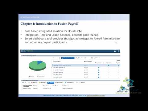 Oracle Fusion Payroll Functional Training (with R13 updates