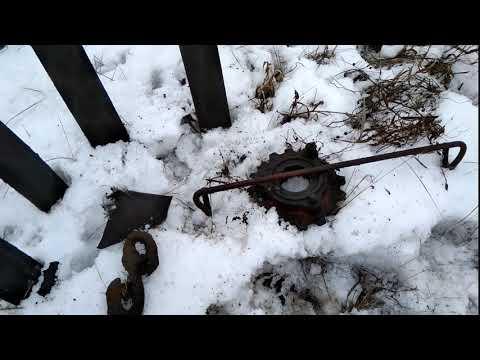 Поиск чермета с металлоискателем GARRETT ACE 350
