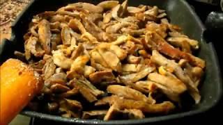 Рахманка. Жареная печень щуки. Cooking.