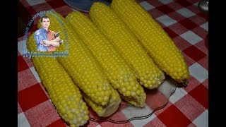 Как просто и быстро варить кукурузу в початках в кастрюле