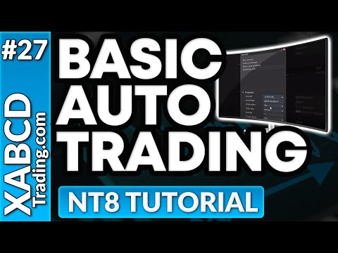 Automating Trades in NinjaTrader 8 Without Knowing Any Code