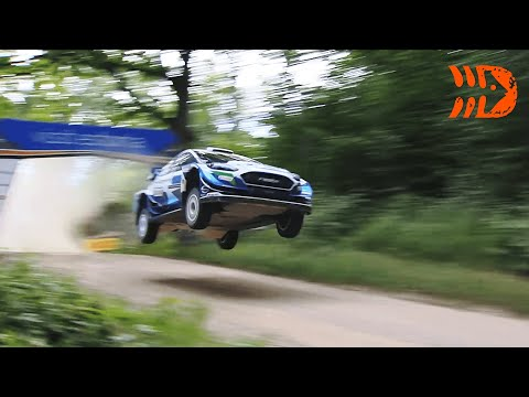 Best of Rally Estonia 2021 | Crashes, Action, Maximum Attack