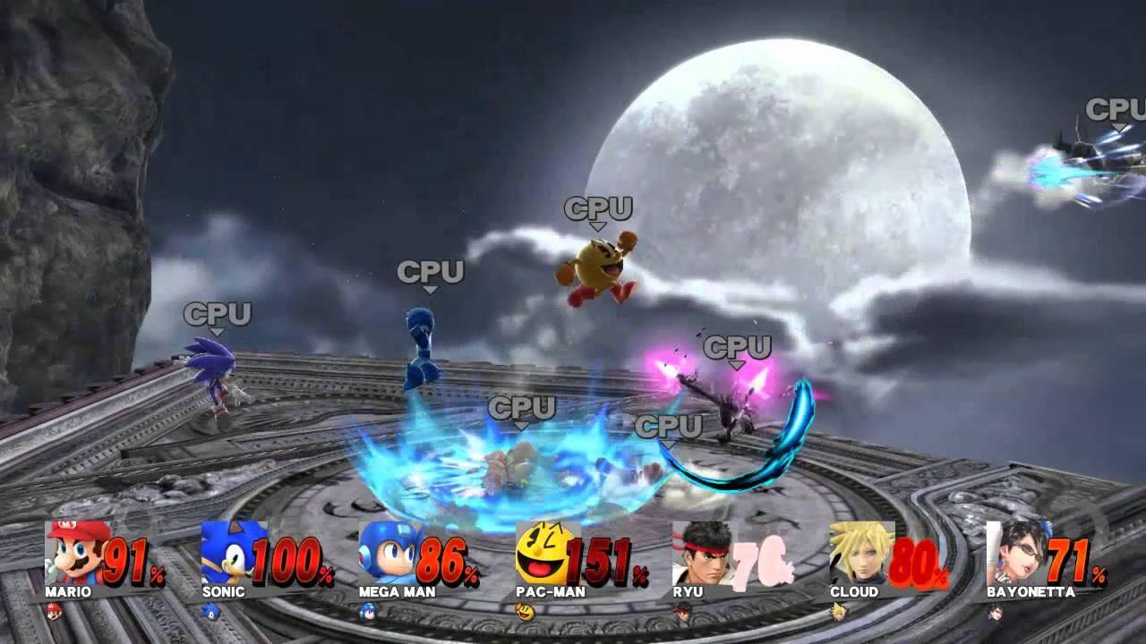 Mario Vs Sonic Vs Megaman Vs Pacman Mario vs Sonic vs Mega...