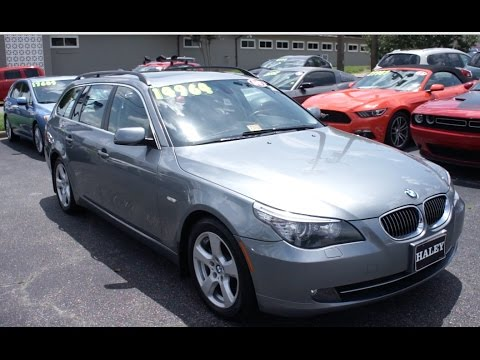 2008 bmw 535xi wagon walkaround start up tour and overview youtube. Black Bedroom Furniture Sets. Home Design Ideas