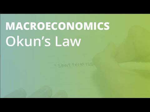 Okun's Law   Macroeconomics