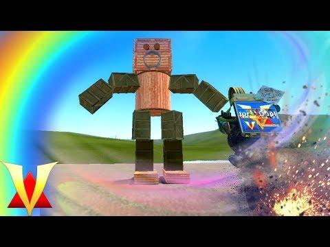 ROBOT DUPES!! Gmod Crazy Fun Dupes (Garry's Mod)