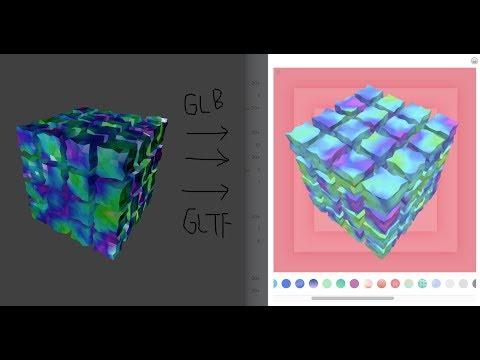 LIVENODING 972 / Procedural Creation from Blender to Facebook