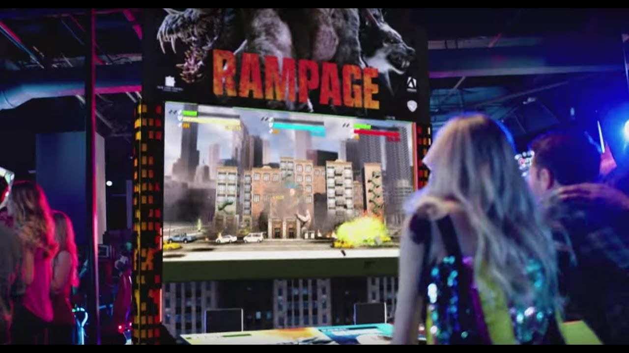 Dave Buster S Rampage Play 5 Games Free Youtube