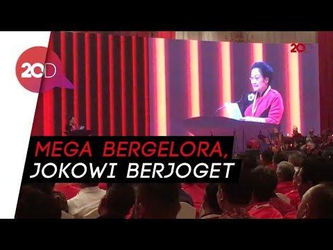 HUT ke-45 PDIP, Semangatnya Megawati dan Goyang Maumere Jokowi!