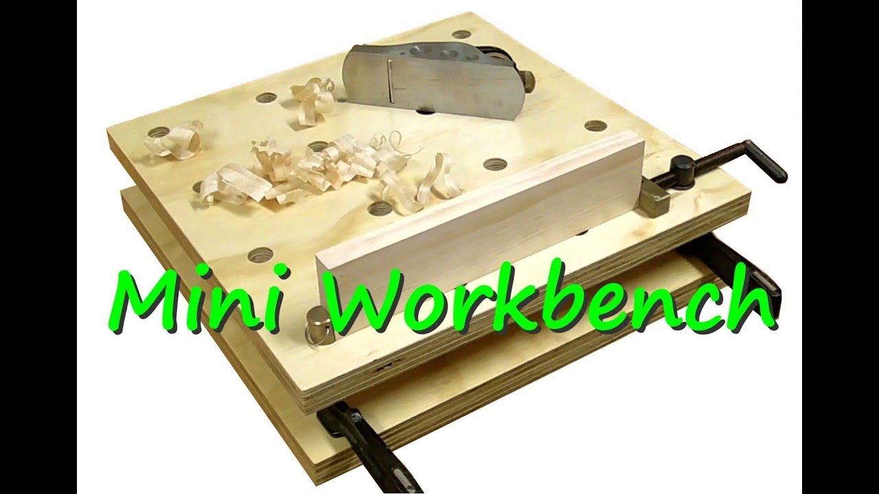 A Mini Workbench - YouTube