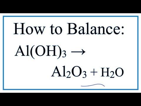 Как из al2o3 получить al oh 3