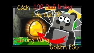 How to Get Golden Egg Golden Egg In Bee Swarm Simulator Extreme ease of 100 golden eggs? [Roblox]