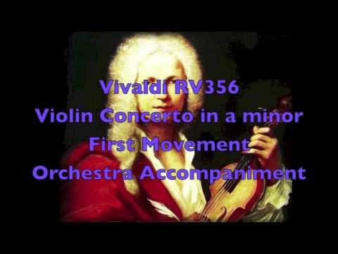 Orestra Accompaniment - Vivaldi RV356 First Movement