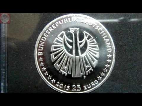 25 JAHRE DEUTSCHE EINHEIT - die offizielle 25 Euro Münze der Bundesrepublik Deutschland 2015